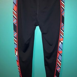 Fila red, white and blue leggings size S